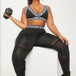 Pretty Little Thing Active Crop Top 3X